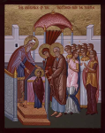The Entrance of Theotokos into the Temple